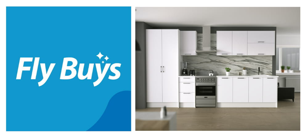 Earn Flybuys with Harrisons Kitchens